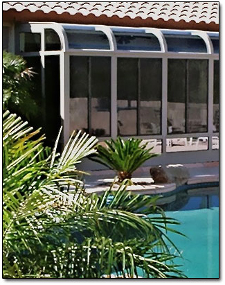 Curved Glass Solarium Sunrooms Booth Built Patio Products