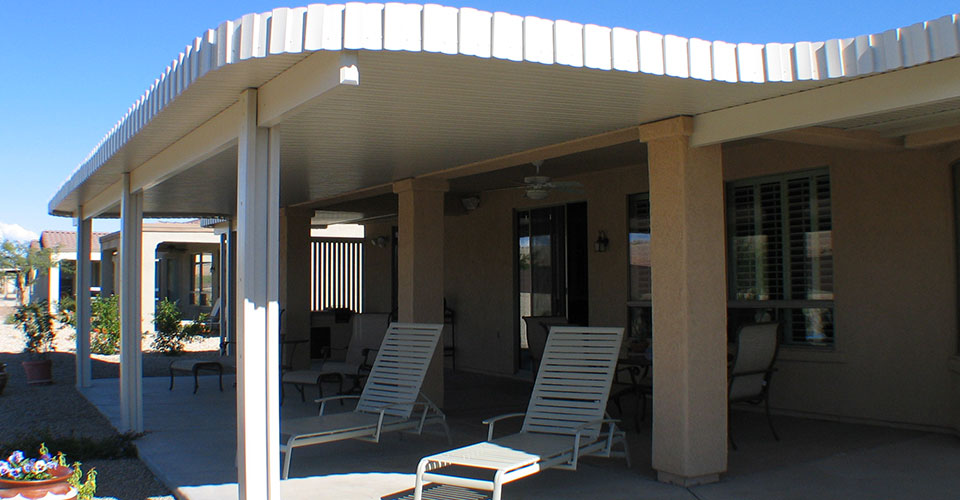 Partial Shade Patio Covers. Need Relief From The Arizona Sun?