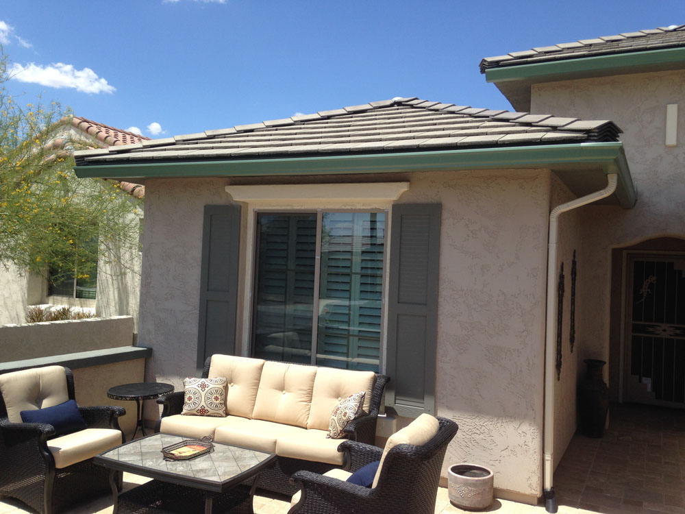 Rain Gutters Photo Gallery Booth Built Patio Products