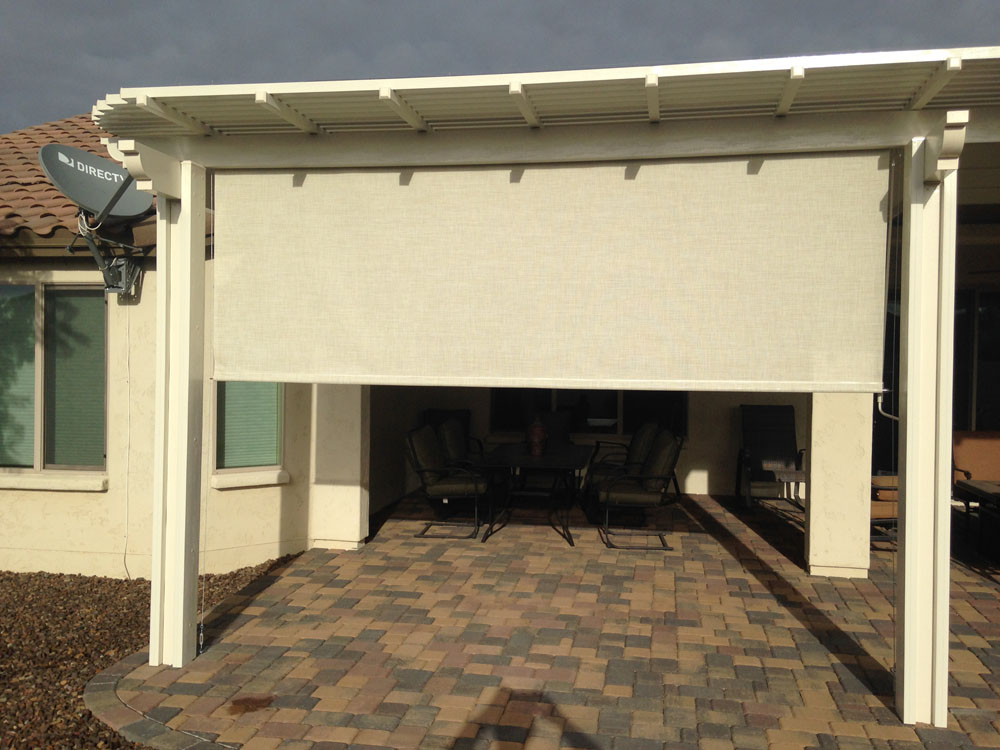 Roll Up Shades Photo Gallery Booth Built Patio Products