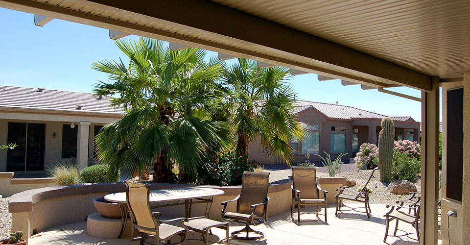 Upgrade your backyard with a new patio cover.